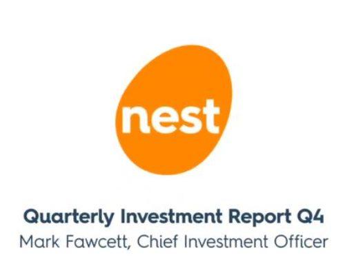 Nest's CIO Quarterly Report